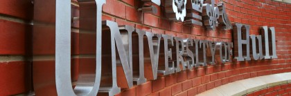 University of Hull sign