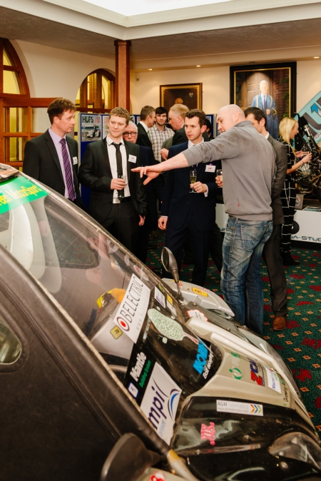 Students demonstrate engineering success to IMechE President