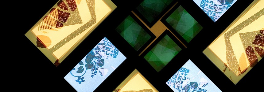 LCD screens are everywhere - even in art galleries. Dominic Alves/Flickr, CC BY-SA