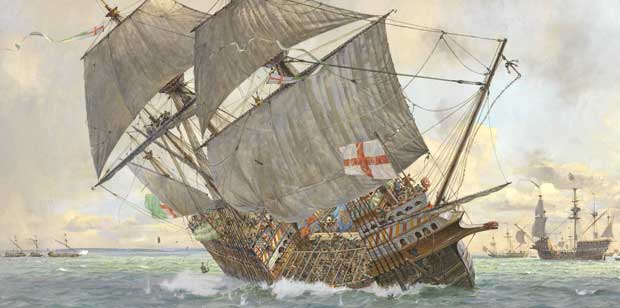 Sinking of the the Mary Rose